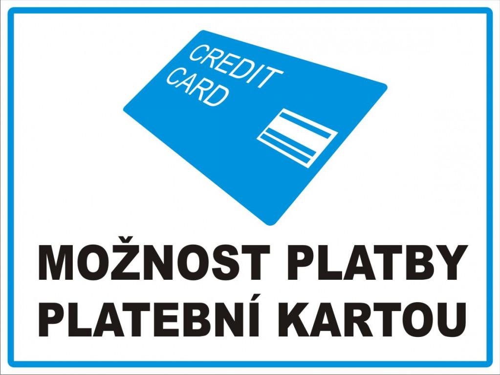placení kredit kartou